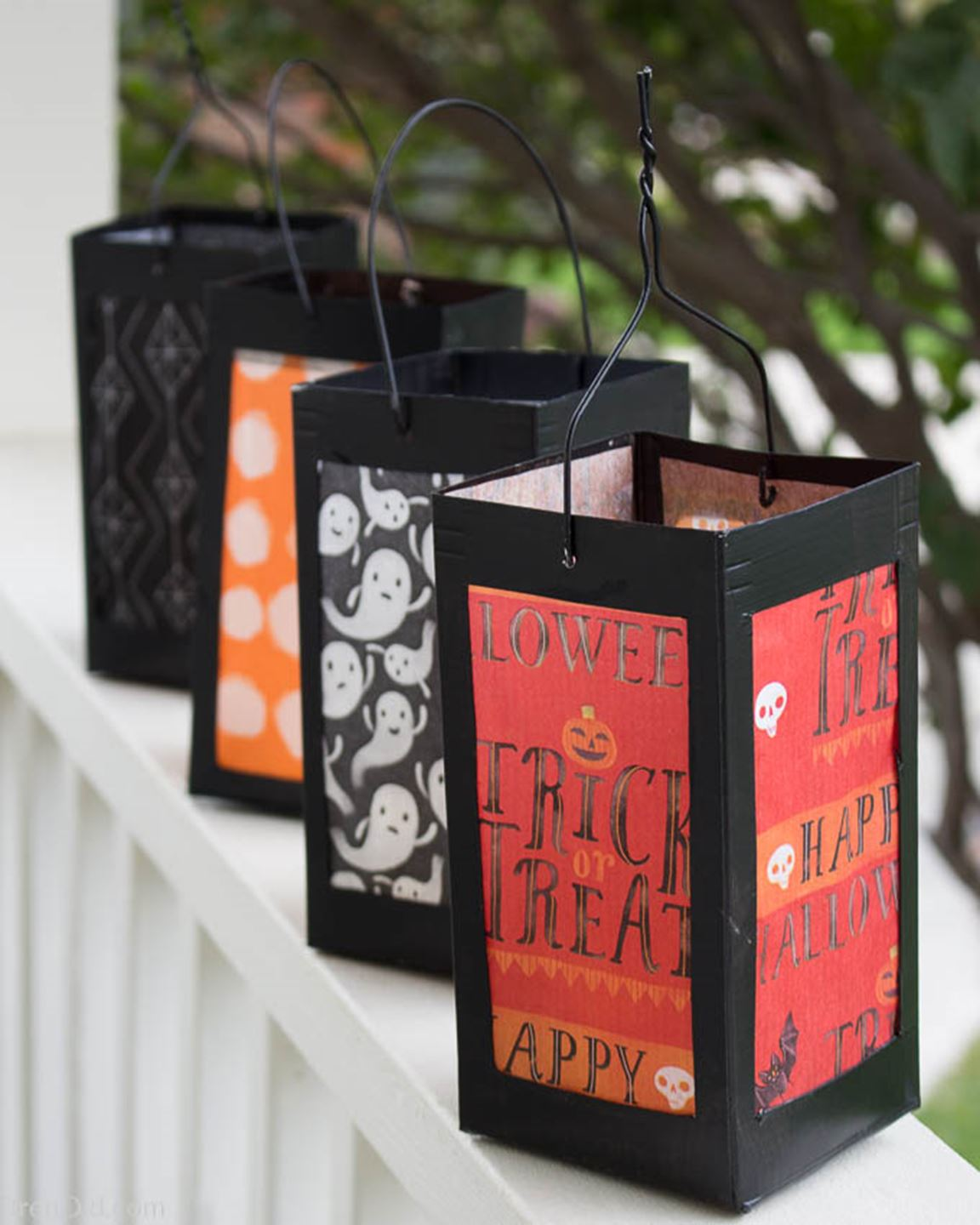 Milk Carton Lanterns